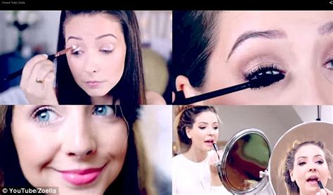 hair and makeup tutorials zoella will make up tutorials recorded on google glass spell end