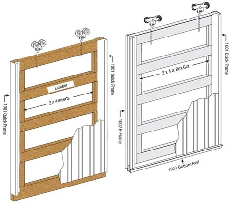 sliding door quick frames tab loc frames sliding door