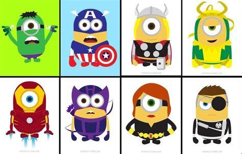 imagenes de minions avengers avengers loki in minion form d comics anime