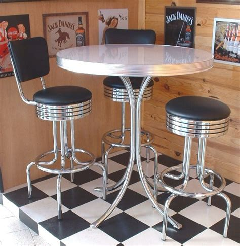 50s style kitchen table 50s style diner tables to21 retro bar table
