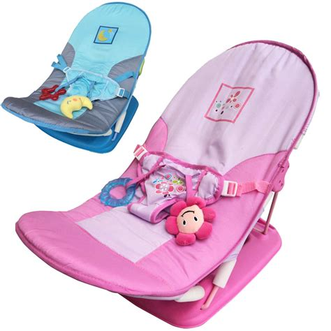 Sugar Baby Fold Up Infant Seat I Pink Baby Bouncer baby chair fold up infant seat newborn casual foldable chaise lounge toddle travel chair