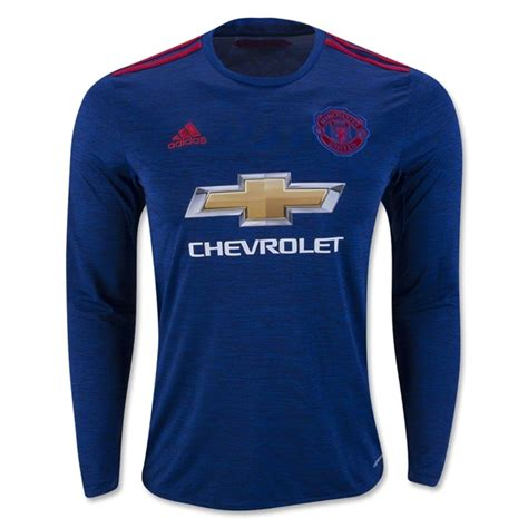 Jersey Manchester United Ls 2016 17 manchester united ls away soccer jersey