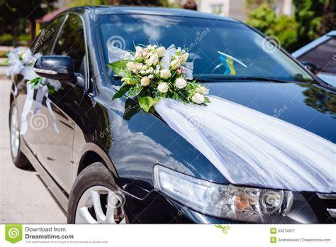 wedding car decor flowers bouquet car decoration stock image image of decor ceremony 53574977 - Wedding Car Decorations With Flower Bouquet Pictures