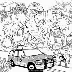 jurassic park coloring pages jurassic world t rex indominus rex coloring page