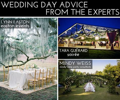 Wedding Day Advice by Wedding Day Advice From The Experts Glitter Guide