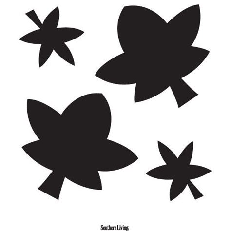 leaf pattern for pumpkin carving 14 easy printable pumpkin carving patterns southern living