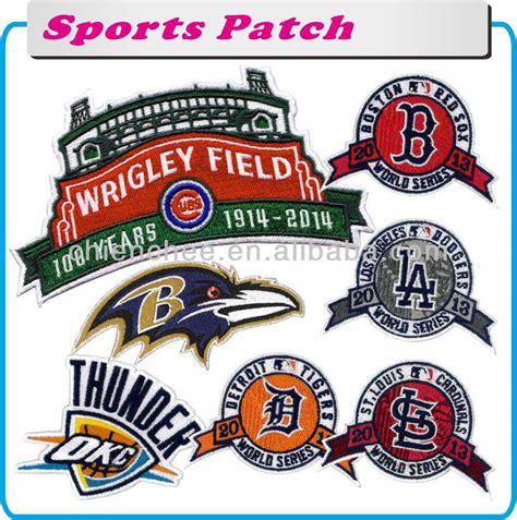 Logo Bordir Semua Partai Badge Computer Embroidery bordir emblem menempel pada olahraga tim logo untuk sport