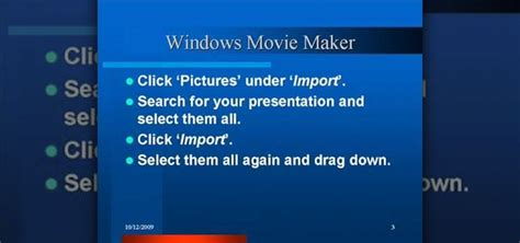 tutorial windows movie maker ppt how to make a powerpoint video presentation in windows