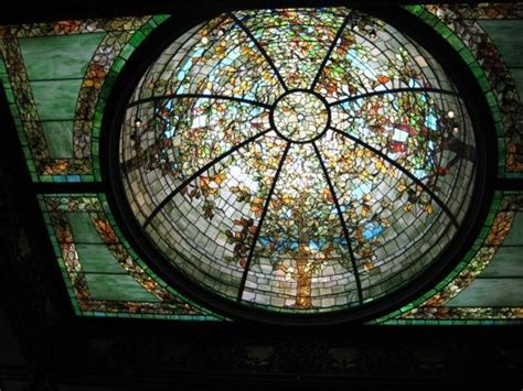 stained glass ceiling stained glass dome ceiling dreihaus museum chicago picture of richard h driehaus museum