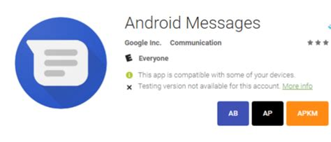 android default messaging app android messages to become default app for android appinformers