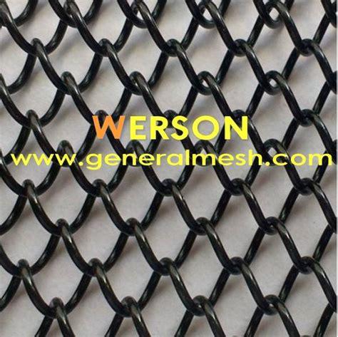 china generalmesh fireplace wire mesh curtain metal mesh