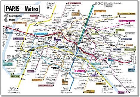printable street map paris a better paris metro map