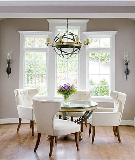 kitchen table chandelier 15 elegant and sophisticated round dining tables for your