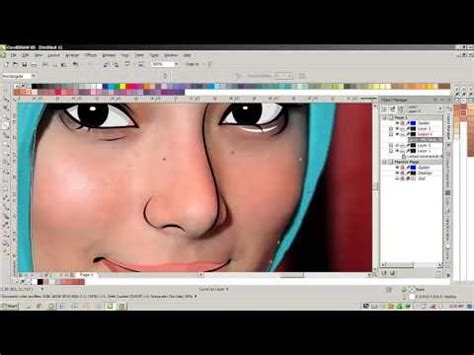 tutorial vector corel draw youtube tutorial vector corel draw menggambar foto ke vector by
