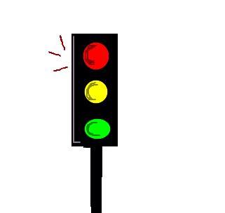 semáforo desenho de cacou gartic