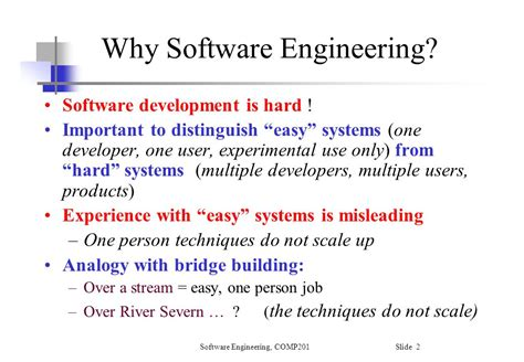 Software Engineering 3 software engineering comp ppt