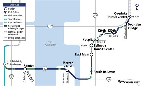 link light rail map eastside light rail studio711