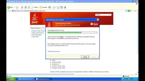 java full version free download for windows xp check java version on windows xp youtube