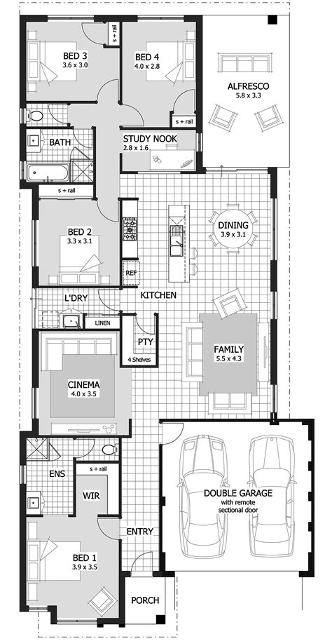 home plans australia floor plan fresh home designs