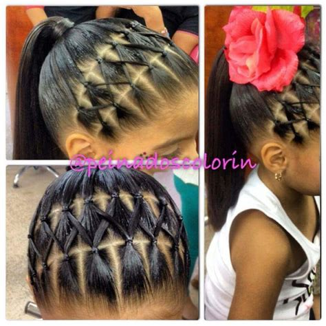 hair styes for girls with loom bands 25 best ideas about young girls hairstyles on pinterest