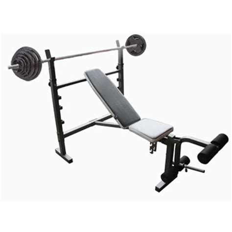home bench press set wide adjustable flat incline decline bench press with 50kg