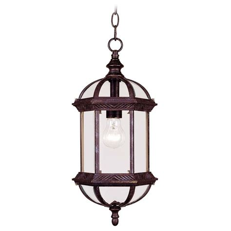 Outdoor Rustic Lighting Savoy House Rustic Bronze Outdoor Hanging Light 5 0631 72 Destination Lighting
