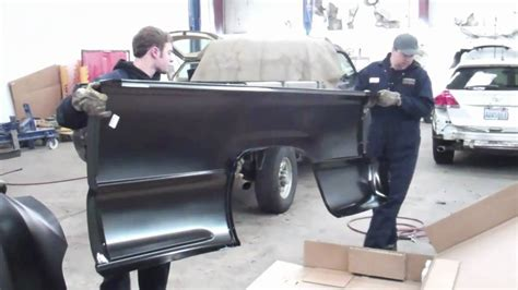 truck bed replacement evergreen autoworks pick up truck bedside replacement