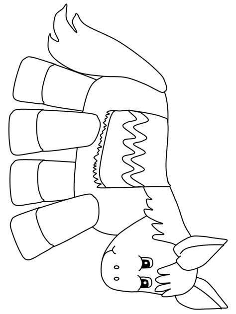 mexican donkey coloring page donkey coloring page coloring home
