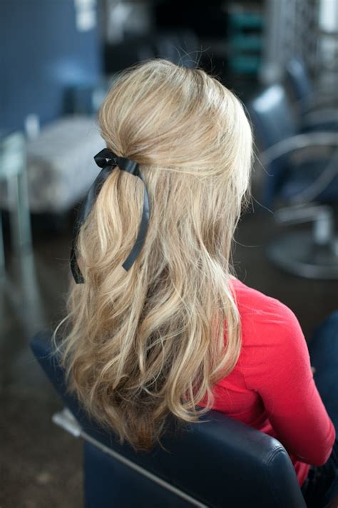 hairstyles for putting you hair down 25 easy half up half down hairstyle tutorials for prom