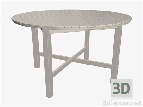 3d dining table 3d model dining table light manufacturer ikea id 16411