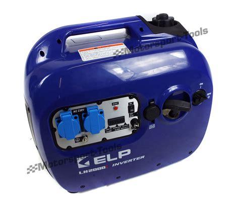 Ac Portable General portable generator 2000w 240v ac 12v dc lightweight petrol
