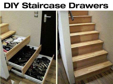 Drawers In Staircase by Best 25 Stair Drawers Ideas On Design Stair