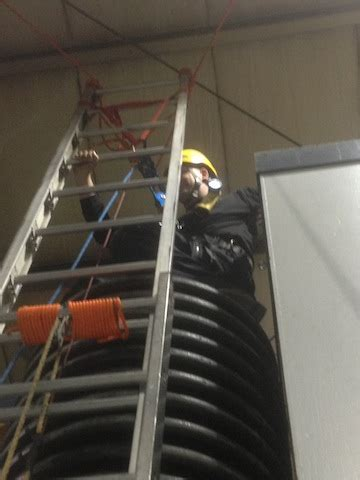 ladder gin  confined space  due tackle