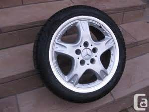 Mercedes Rims And Tires For Sale Mercedes Rims With Perilli Snow Tires Yonge And 7