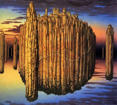 Yerka Paints Like An by Jacek Yerka Biography