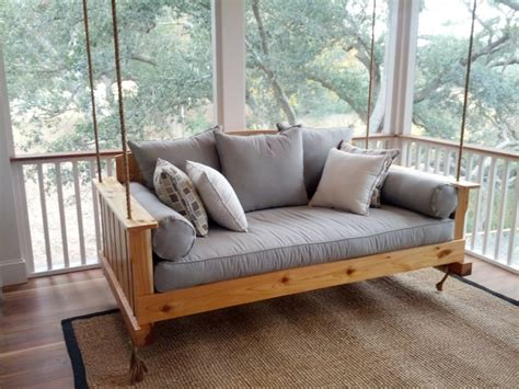 swinging beds cedar swing bed
