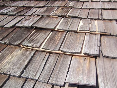 big bear lake cabin   wood shake roof