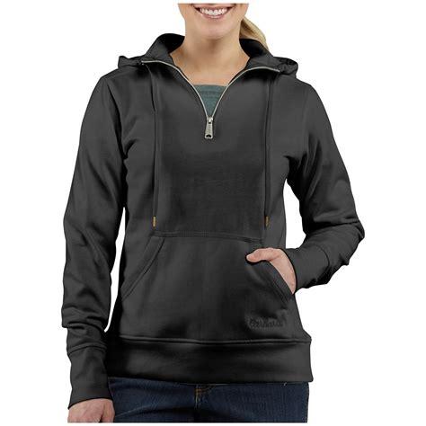 Jaket Sweater Hoodie Zipper Carhatt 6 Herocollection s carhartt 174 clarksburg 1 4 zip hooded sweatshirt