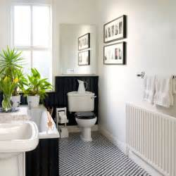 Black And White Bathroom Ideas Pictures by Black And White Bathroom Bathroom Design Housetohome Co Uk