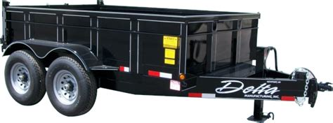 Dump Bed Trailer by Dump Bed Trailers From Delta