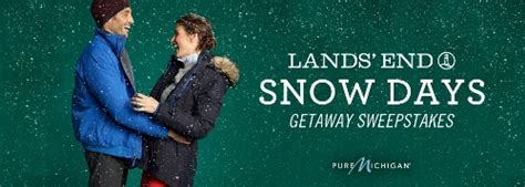 Lands End Holiday Sweepstakes - bundle up with lands end outerwear and win twitter party sweepstakes announcement