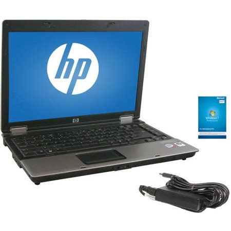 "refurbished hp black 14"" 6530b laptop pc with intel core 2"
