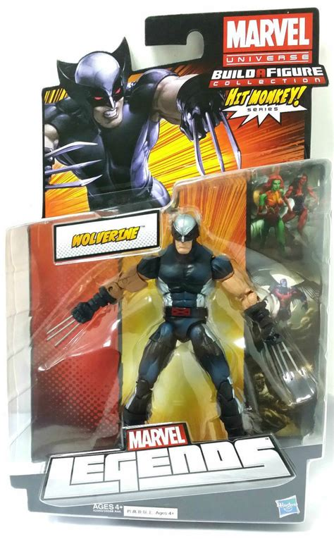 My Chemical Figures Hit Ebay by New Marvel Legends Wolverine Hit Monkey Series 6 Quot Black