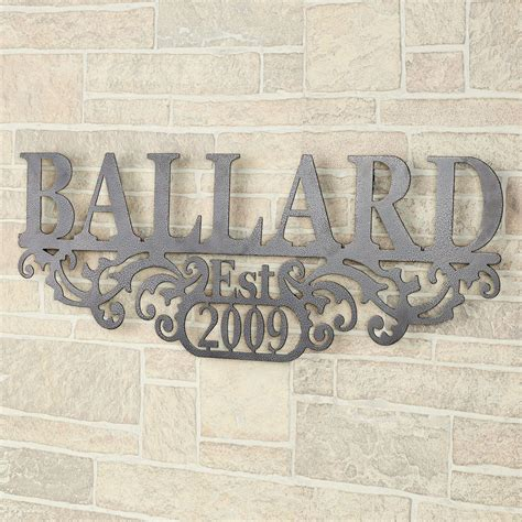 personalized wall decor kinship pewter family name and year personalized metal