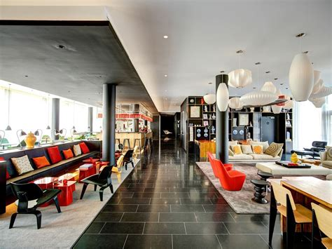 Indoor Chaise Lounge Chair Citizenm Hotel Paris Charles De Gaulle International