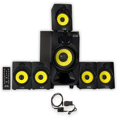 theater solutions ts bluetooth home  speaker system