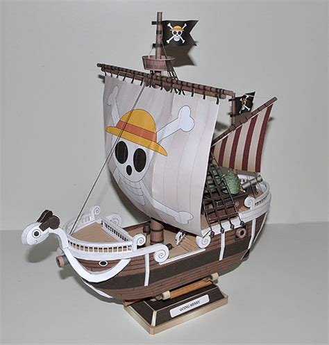 Papercraft Going Merry - bateau pirate going merry papercraft
