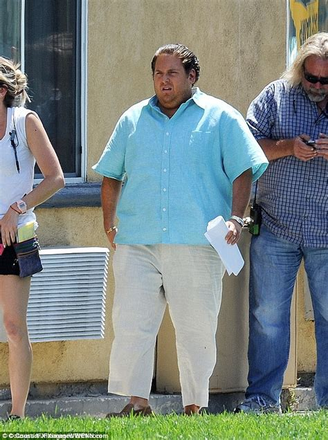 jonah hill war dogs jonah hill looks seriously slim and quite confident daily mail