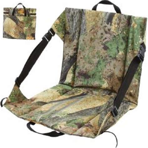 wide 4 tree stand seat cushion tree camouflage deer stand padded seat back cushion with