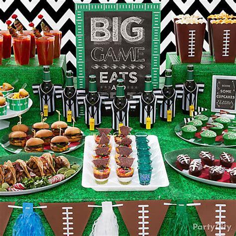 City Football Decorations by Football Food Table Idea City